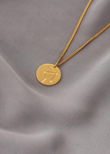 libra zodiaco collar plata constelacion alfonso sanchez