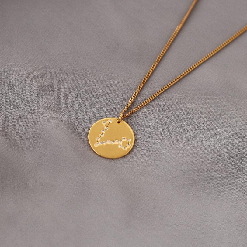 piscis zodiaco collar plata constelacion alfonso sanchez