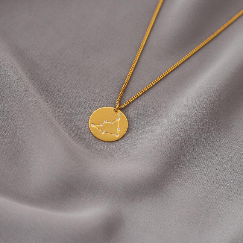 capricornio zodiaco collar plata constelacion alfonso sanchez