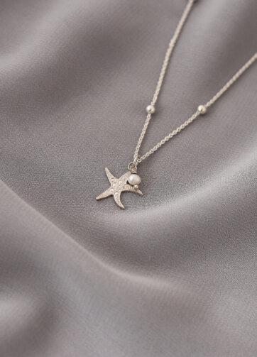 estrella de mar joyeria collar plata alfonso sanchez